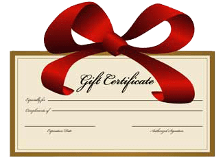 Gift Certificates in Gift Certificates at Ester Lee Online
